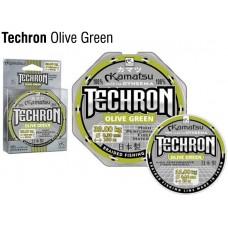 Pintas valas Techron Olive Green 100m